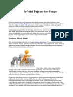 Pengertian Definisi Tujuan Dan Fungsi Etika Bisnis