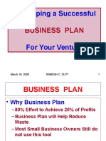 Developing a Successful Busines Plan For Your Venture