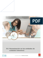 Plan Humanización de Las UCI de La CM