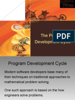 Program Development Cycle PARTIAL