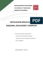 Destilacion Molecular