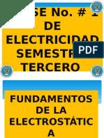 Clase 1 Historia de La Electricidad