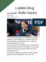 Garda Aided Drug Dealer, Finds Inquiry