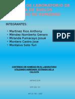 CONTENIDO DE HUMEDAD