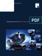 Mercedes Benz replacement parts catalog