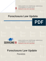 31485356 Foreclosure Law Update MBA s National Mortgage Servicing Conference and Expo 2010
