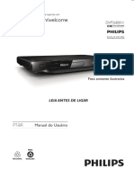 Manual dvd philips dvp3680kx