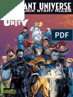 Valiant Universe RPG Quick Start Rules