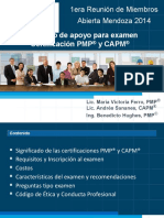 140424 - Certificacion PMP 2014