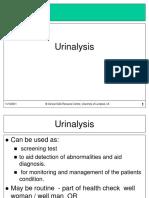 Urianalysis interpretación