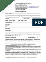 2016 24fps Direct Link Entry Form