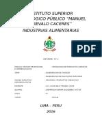Informe 2 - 2016 Chorizo