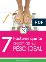 7 FACTORES Que Te Alejan de Tu Peso Ideal (1)
