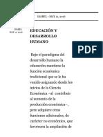 Pensamiento Cien, Estrategia Muros Colaborativos Educación y Desarrollo Humano
