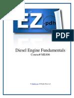 ME406 Diesel Engine Fundamentals