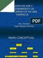 Clasificacion y Ordenamiento de Medicamentos en Una Farmacia