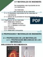 propiedades de Los Materiales de Ingenieria