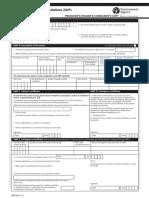 contoh form manifest b3 UK