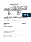Deed of Sale and Deed of Assignment- Sample