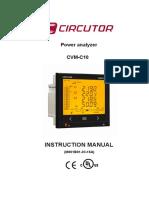 Manual Cvm c10