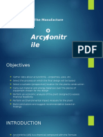 The Manufacture of Acrylonitrile