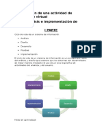 Planificación de Una Actividad de Aprendizaje Virtual