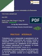 Segunda Clase Extesnión en Psicología, 2016