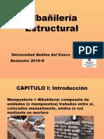 Capitulo I_ Historia de La Albañilería y Tipos