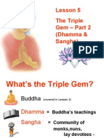 Buddhism for You-Lesson 05-The Triple Gem(Part 2)
