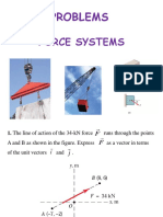 Force Systems Problems