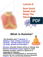 Buddhism for You-Lesson 08-Kamma