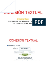 Cohesión Textual & El Parrafo