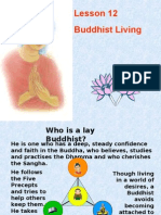 Buddhism for You-Lesson 12-Buddhist Living