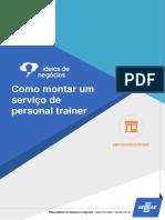 Como Montar Um Serviço de Personal Trainer