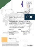 Certificado RETILAP Reflectores