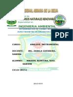 Universidad Nacional Agraria de La Selva Analisis Istru