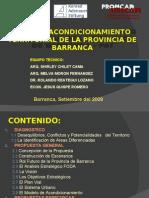 Plan de Acondicionamiento Territorial de la Provincia de Barranca