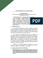Ley de Circulación de Los t.V.
