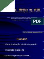 Estatística   Médica  na  WEB