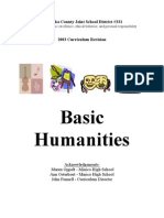 Basic Humanities 9-12