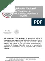 Legislacion Nacional Relcionada Con Salud en El Trabajo, Seguridad e Higiene