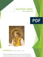 Shah Jahan and Jahangir