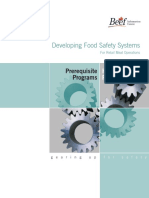HACCP Prerequisite Programs Food Safety Systems Manual