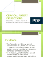 Cervical Artery Dissections