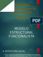 Modelos Teoricos Para La Explicacion Social