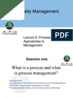 ProcessbasedApprochestoManagement -1