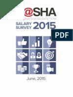 P@SHA IT Salary Survey 2015