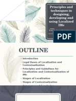 Principles and Techniques in Designing, Developing And