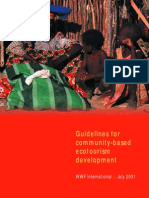 WWF   Guidelines for community-based ecotourism development