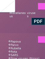Miscellaneous Viruses